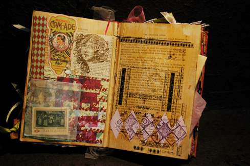 Altered Book by Melani de Groot