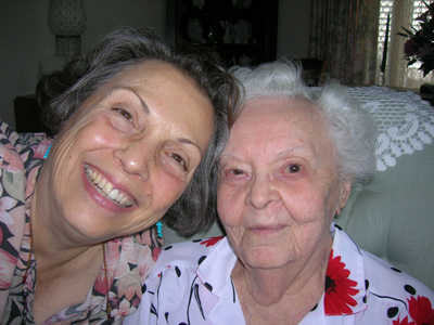 Mom and Lindy June 2010